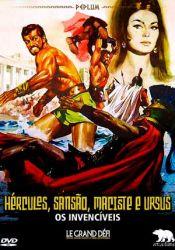 Hércules, Sansão, Maciste e Ursos - Os Invencíveis
